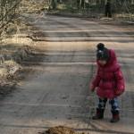 Bērnam arī šis objekts mežā rada pieredzi.